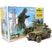 MPC (MPC) Godzilla Army Jeep 1:25