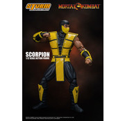 "Storm Collectibles Scorpion ""Mortal Kombat 1/12 Action Figure"