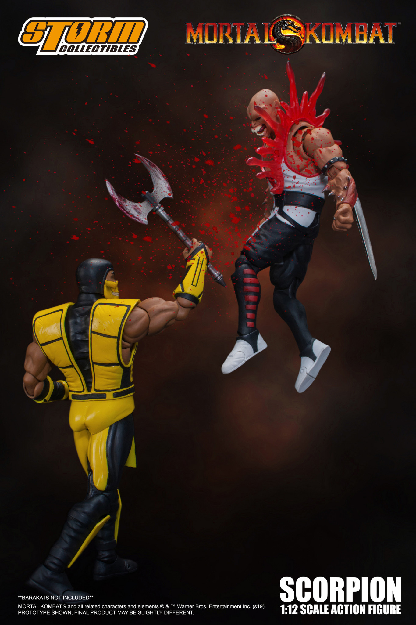 Storm Collectibles 87112 Scorpion