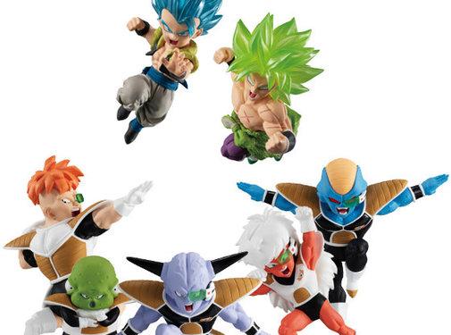 Bandai Dragon Ball Adverge Motion 2 Set