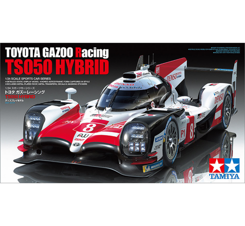 Tamiya (TAM) 865- 24349 Toyota Gazoo Racing TS050 Hybrid Kit 1:24