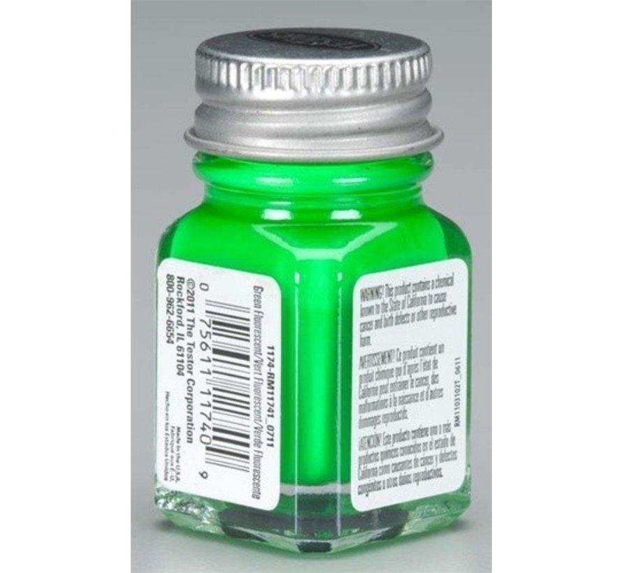1174TT  Enamel 1/4oz  Green Fluorescent
