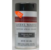 Testors (TES) 704- Model Master Spray Burgundy Red Metallic 3 oz