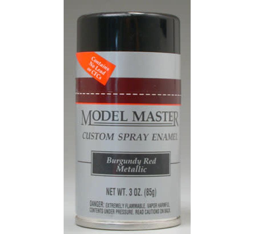 (D)  2905 Model Master Spray Burgundy Red Metallic 3 oz