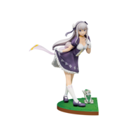 "Bandai Shokugan Emilia ""Re:Zero -Starting Life in Another World-."" Figure"