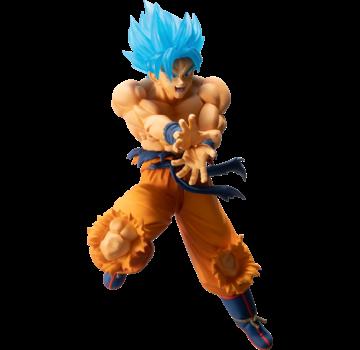 """Bandai Shokugan Super Saiyan God SS  Son Goku """"Dragon Ball"""", Figure"""