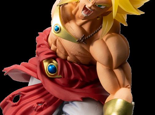 """Bandai Shokugan Super Saiyan Broly 94' """"Dragon Ball"""", Figure"""