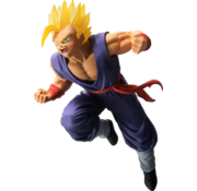 """Bandai Shokugan Super Saiyan Son Gohan 94' """"Dragon Ball"""", Figure"""