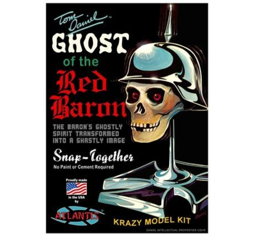 220 Tom Daniel's 1/5 Ghost of the Red Baron Figure Head (Snap) (formerly Monogram)