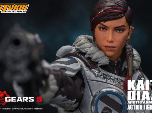 "Storm Collectibles Kait Diaz ""Gears of War"", Storm Collectibles 1/12 Action Figure"