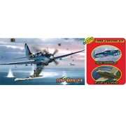 Dragon Models (DML) SB2C4 Helldiver Bomber 1/72