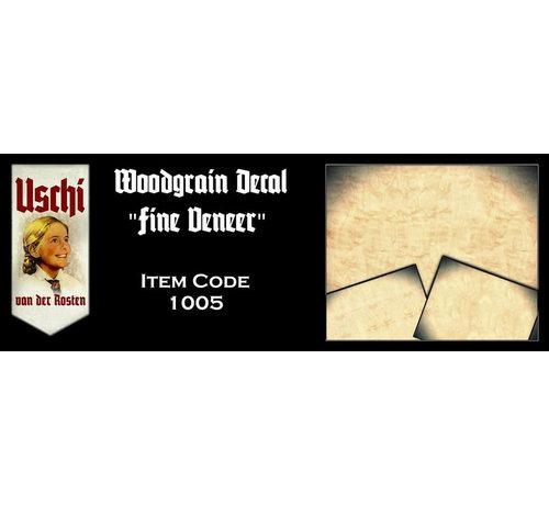 Uschi van der Rosten (USC) 1005 Fine Veneer Plywood 1/72-1/48-1/32 Decal