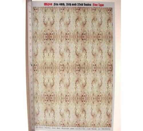 Uschi van der Rosten (USC) 1006 Fine Woodgrain large 1/48-1/32 Decal