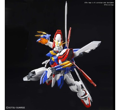 "BANDAI MODEL KITS 5058206 God Gundam  ""G Gundam"", Bandai Spirits Hi-Resolution Model"