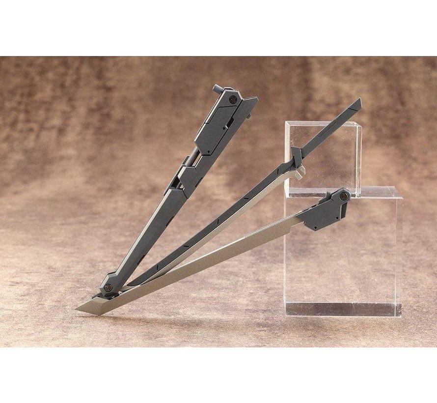 RW006  M.S.G WEAPON UNIT06 SAMURAI MASTER SWORD