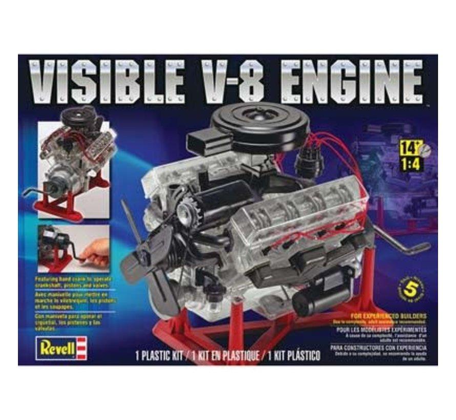 858883 VISIBLE V-8 1/4