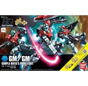 "Bandai GM/GM ""Gundam Build Fighters"" Bandai HGBF"
