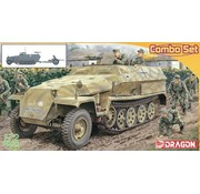 Dragon Models (DML) Sd.Kfz.251 Ausf.C + 3.7cm PaK 35/36 1:72