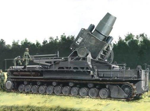 Dragon Models (DML) German Super Heavy Self-Propelled Mortar 1:35