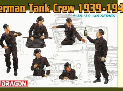 DML - Dragon Models Panzer IV Crew 1:35