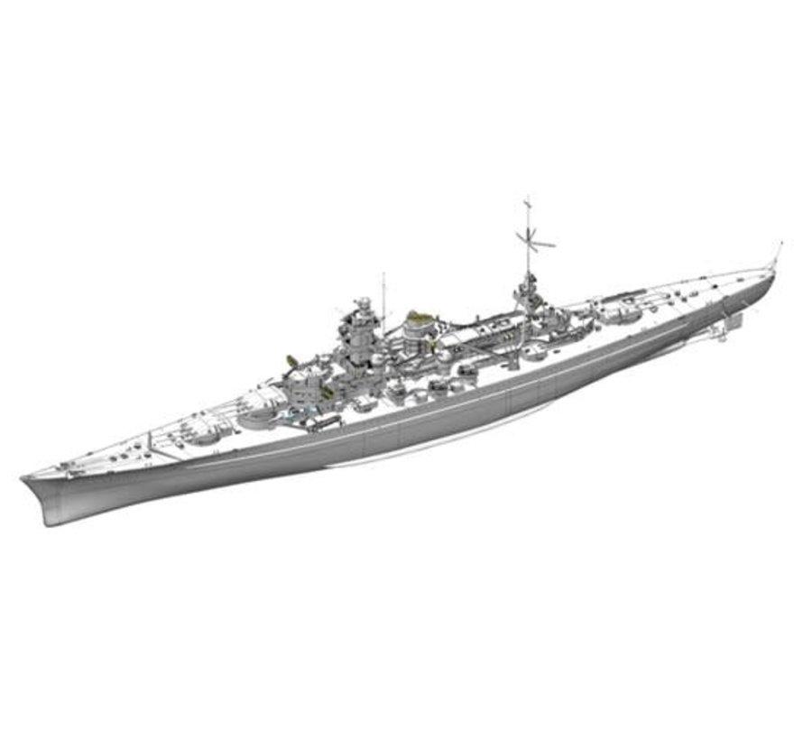 1062 German 1040 Scharnhorst Battleship 1/350