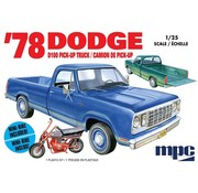 MPC (MPC) 1978 Dodge D100 Custom Pickup 2T 1/25