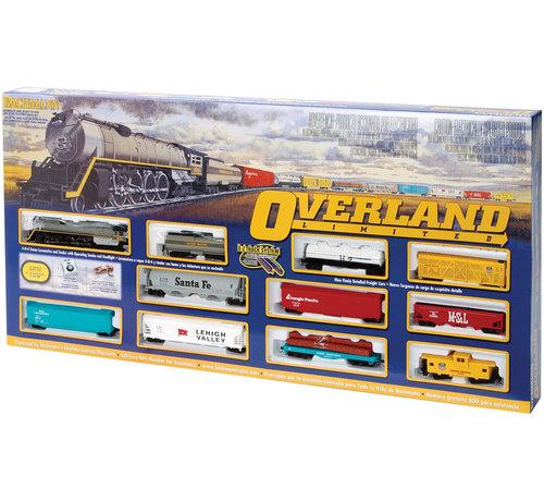 Bachmann (BAC) 160- 00614 HO Scale Overland Limited Train Set