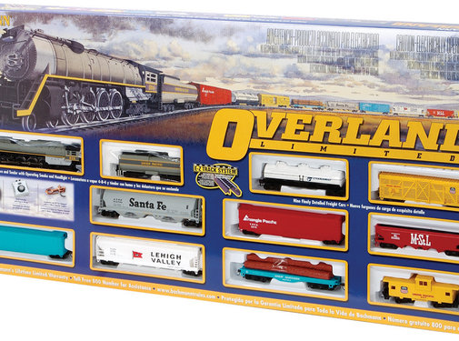 Bachmann (BAC) 160- HO Scale Overland Limited Train Set Bachmann