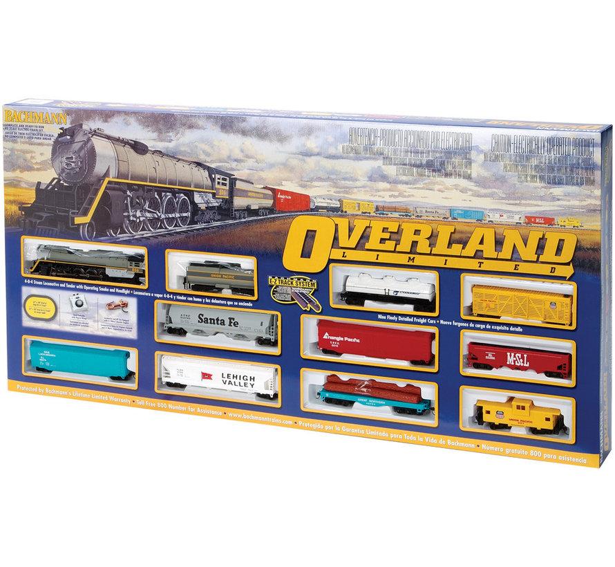00614 HO Scale Overland Limited Train Set