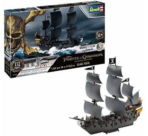 Revell Germany (RVL) 5499 Disney Pirates of the Caribbean Black Pearl Ship (Snap) 1/150