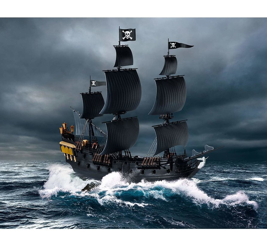 5499 Disney Pirates of the Caribbean Black Pearl Ship (Snap) 1/150