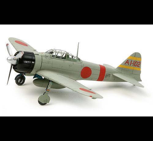 Tamiya (TAM) 865- 60780 Mit A6M2b (ZEKE) Zero Fighter 1/72