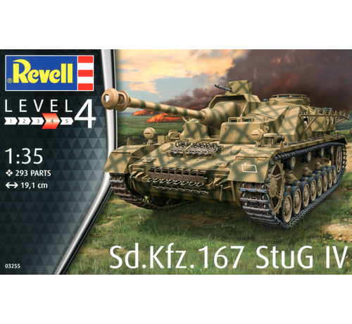 Revell Germany (RVL) 03255 Sd.Kfz 167 StuG IV Tank 1/35