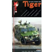 "Xactscale Models Russian GAZ ""Tiger"" Recon Vehicle"