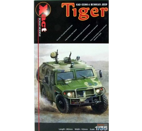 "Xactscale Models 35002 Russian GAZ ""Tiger"" Recon Vehicle"