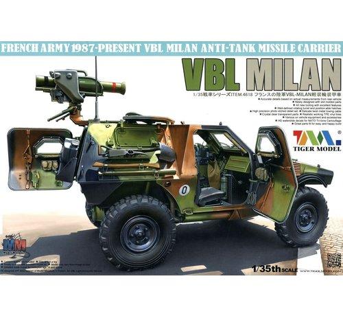 TMK - TIGER MODEL LTD 35 4618 1/35 French VBL Milan Anti-Tank Missile Launcher Vehicle 1987-Present
