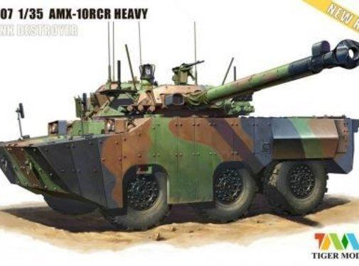 TMK - TIGER MODEL LTD 1/35 French AMX-10RCR Separ Heavy Tank Destroyer (New Tool)