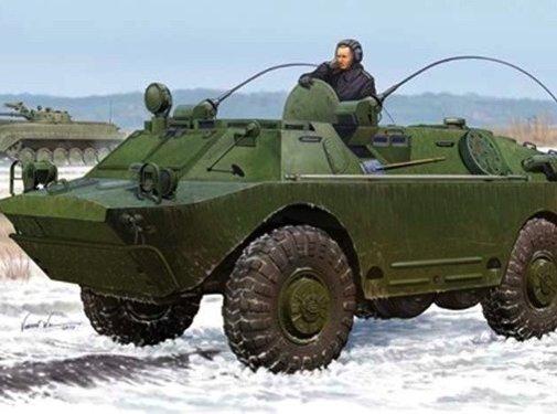 Trumpeter Models (TSM) Russian BRDM-2UM Command Vehicle 1/35