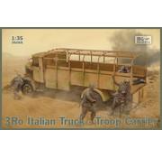 IBG MODELS 3Ro Italian Troop Carrier Truck