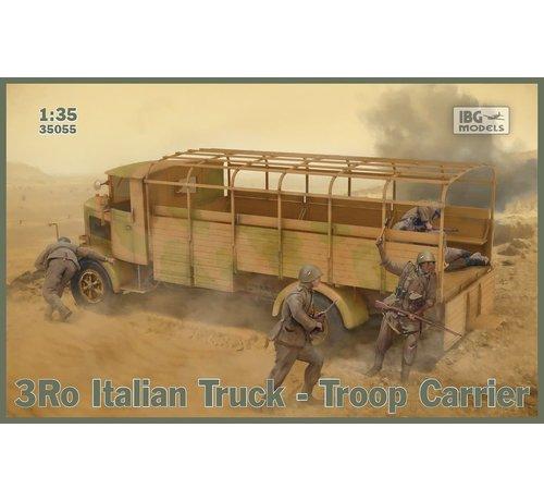 IBG MODELS 35055 3Ro Italian Troop Carrier Truck