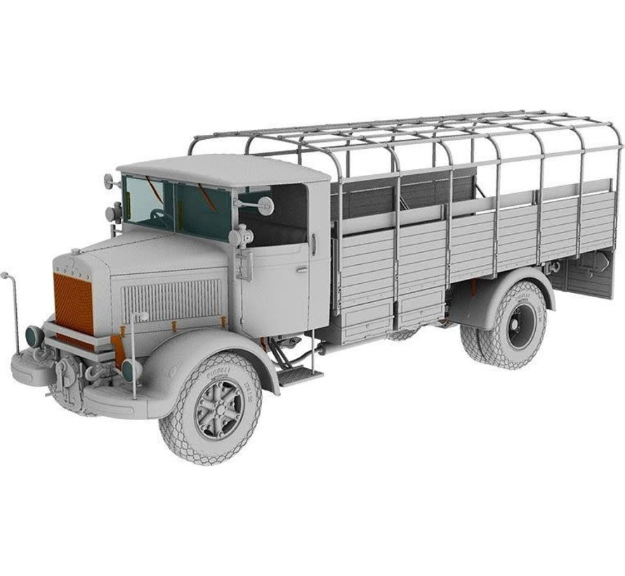35055 3Ro Italian Troop Carrier Truck