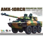 TMK - TIGER MODEL LTD 1/35 French AMX-10RCR Tank Destroyer (New Tool)
