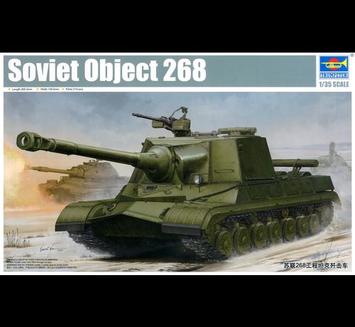 Trumpeter Models (TSM) TR05544 1/35 SOVIET OBJECT 268 Russian Tank Model KIT