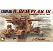 AFV CLUB (AFV) 1:35 German 8.8cm Flak 18 anti-aircraft gun AFV Club AF 35088