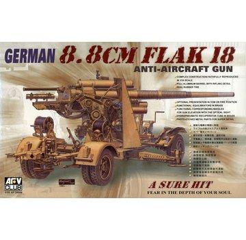 AFV CLUB (AFV) 1:35 German 8.8cm Flak 18 anti-aircraft gun AFV Club AF 35088