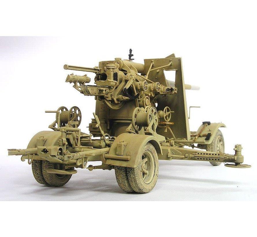 1:35 German 8.8cm Flak 18 anti-aircraft gun AFV Club AF 35088