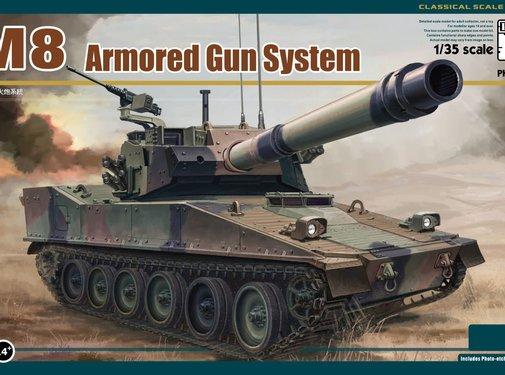 PANDA HOBBY (PHM) M8 Armored Gun System 1/35