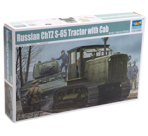 Trumpeter Models (TSM) 5539 1/35 Russian ChTZ S-65 Tractor with Cab