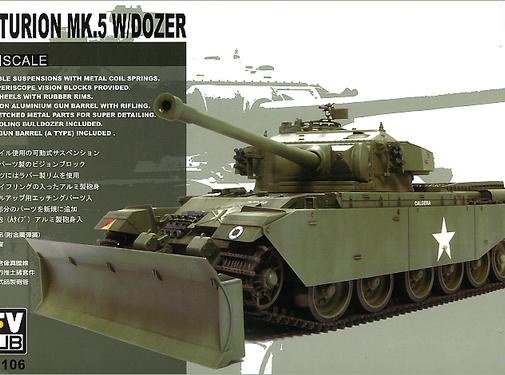 AFV CLUB (AFV) 35106 1/35 Centurion Mk5 W/Dozer