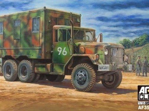AFV CLUB (AFV) 1/35 M109A2 / M185A3 2.5-Ton 6x6 Shop Van